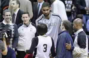 Wizards v/s Spurs 02/12/11