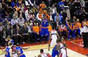 Carmelo Anthony Einwurf